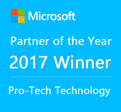 Pro-Tech Technology has won Microsoft Office 365 Partner of the Year 2017 at Microsoft Inspire Hong Kong! Thank you to all our partners, customers and our teammates for making this success possible.