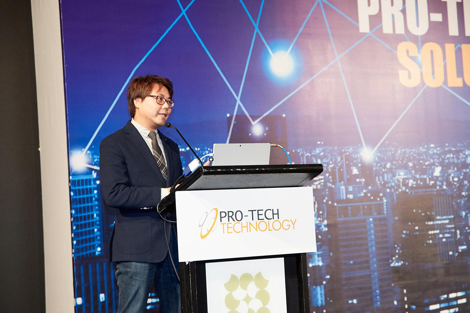 Samsung Head of Enterprise Sales, CE,Herry Lai