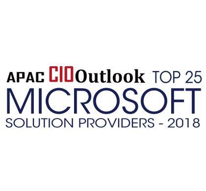 Top 25 Microsoft Solution Provider - APAC