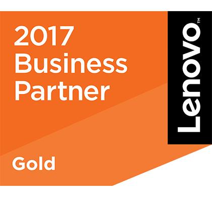 Lenovo Gold Partner 2017