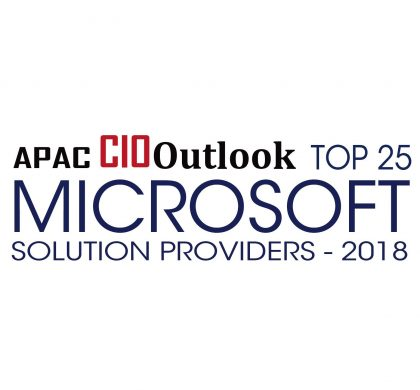 Top 25 Microsoft Solution Provider - APAC